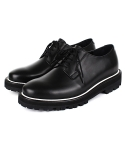 DVS PIPING DERBY SHOES