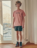 스웨트펑크(SWEATFUNK) Short tee_Pink