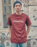 스웨트펑크(SWEATFUNK) Short tee_Burgundy