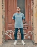 스웨트펑크(SWEATFUNK) Short tee_Skyblue