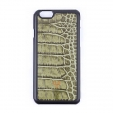 디오디(DOD) iPhone_Crocodile skin Olive green
