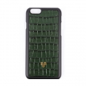 iPhone_Crocodile skin Green