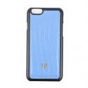 디오디(DOD) iPhone_Crocodile skin Sky-blue