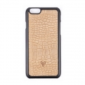 디오디(DOD) iPhone_Crocodile skin Beige