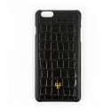 디오디(DOD) iPhone_Crocodile skin Black