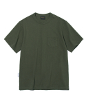 유니폼브릿지(UNIFORM BRIDGE) 17ss 10s heavyweight pocket tee khaki