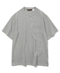 유니폼브릿지(UNIFORM BRIDGE) 17ss 10s heavyweight pocket tee grey