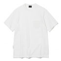유니폼브릿지(UNIFORM BRIDGE) 17ss 10s heavyweight pocket tee off white
