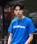 본즈(BONZ) BONZ EDITION S/S T-SHIRT (BLUE)