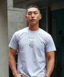 본즈(BONZ) BONZ JAMES S/S T-SHIRT (GRAY)