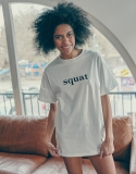 스웨트펑크(SWEATFUNK) Short tee_White