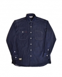 젬킨스(JEMKINS) Red Point Denim Shirts