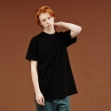 사이언티스트(SCIENTIST) MUJI NECK T SHIRTS (black)