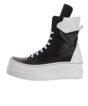 릴리즘프로덕트(RELIZMPRODUCT) RELIZMPRODUCT Black & White Leather Boots