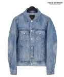 피스워커() Denim Armor 592 - Medium Blue / Standard