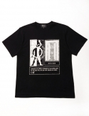 오픈오드(OPN ODD) HUMAN OVERCOME TEE (BLACK)