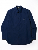 WASHED SHIRTS (NAVY BLUE)