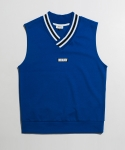 미나브(MINAV) [UNISEX] POINT RIP SLEEVELESS BLUE