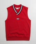 미나브(MINAV) [UNISEX] POINT RIP SLEEVELESS RED