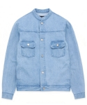 Washed China denim jacket