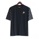 런디에스(RUNDS) RUNDS half dot t-shirt (black)