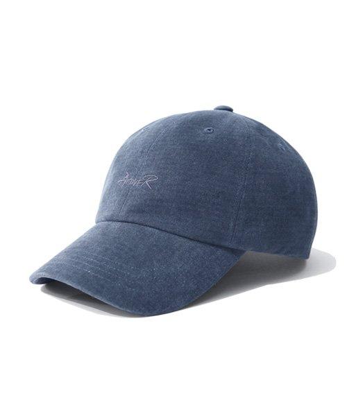 어커버_Script Type Ball Cap Navy