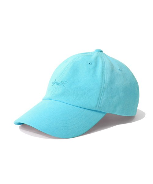 어커버_Script Type Ball Cap Blue Mint