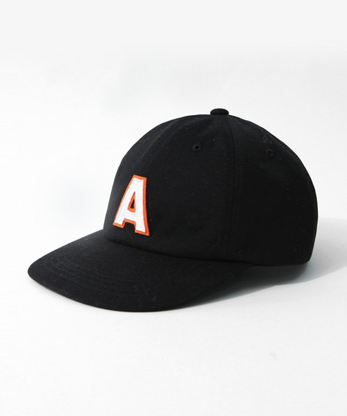어커버_A Patch Cap Black