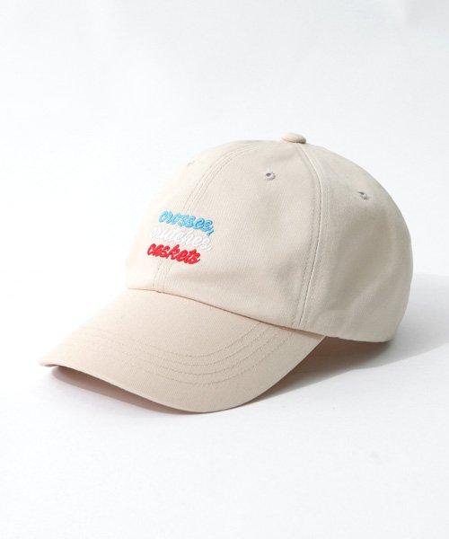 어커버_Three Line Ball Cap Beige
