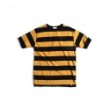에스티디 스탠다드(STD STANDARD) GONDOLA STRIPE  T-SHIRTS : YELLOW