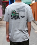 그라스하퍼(GRASSHOPPER) SMOKE T-SHIRT_GRAY