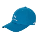 비에이블투(B ABLE TWO) [UNISEX] Logo Baseball Cap (BLUE)