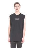 휴팟(HUPOT) PLAY GOD SLEEVELESS BLACK
