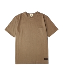 POCKET T-SHIRT [Deep Beige]
