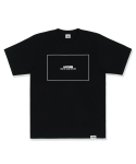 레이든(LAYDEN) SQUARE BOX TEE-BLACK