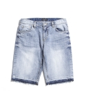 제로(XERO) Cut-Off Denim Shorts