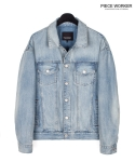 피스워커() Denim Armor 990 - Light Blue / Semiover