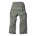 U.S.M.C m-44 monkey pants with dublin x L.A.L - khaki