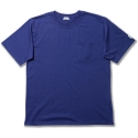 basic pocket boxtee 20s single with Dublin x L.A.L - navy
