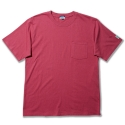 라이크어라이언(LIKE A LION) basic pocket boxtee 20s single with Dublin x L.A.L - off pink