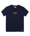 인사일런스(INSILENCE) TUNE LOOSE FIT TEE (NAVY)