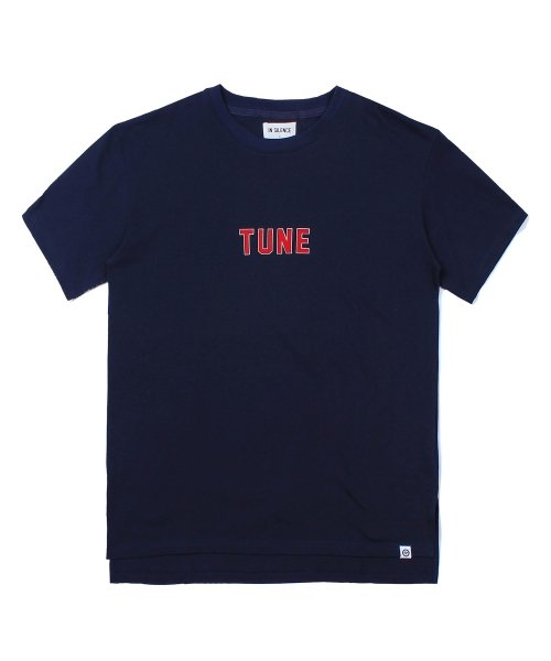 인사일런스_TUNE LOOSE FIT TEE (NAVY)