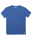 인사일런스(INSILENCE) VU POCKET TEE (BLUE)