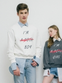 스모어(SMORE) 스모어 S'MORE POSH BOY SWEAT SHIRTS