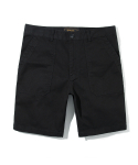 유니폼브릿지() 17ss cotton fatigue shorts black
