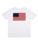 애터27(ATTA27) USA Flag Pocket T _ Ivory