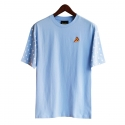 런디에스(RUNDS) RUNDS half dot t-shirt (sky blue)