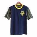 런디에스(RUNDS) RUNDS half stripe t-shirt (navy)