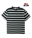 에이테일러(A-TAILOR) Two-tone stripe T-shirt