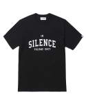 인사일런스(INSILENCE) SHORT SLEEVE FOOTBALL TEE (BLACK)